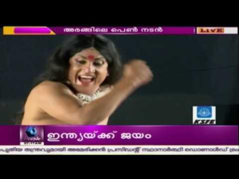 Santhosh Keezhattoor Graces Surya Mela Stage With 'Penn Nadan'