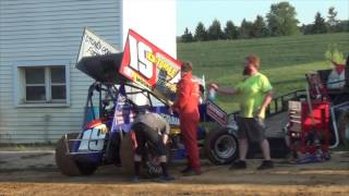 Trail-Way Speedway 358 Sprint Car Highlights
