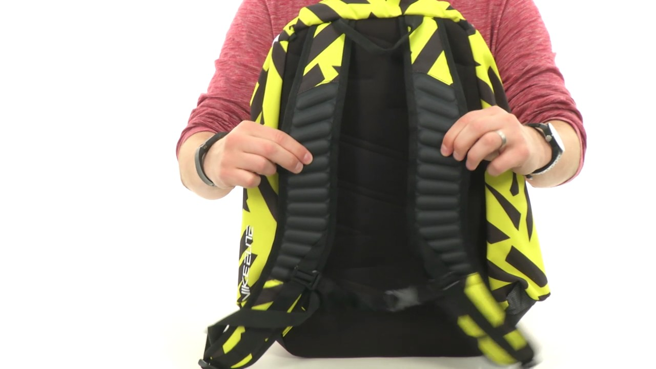 nike elite backpack yellow