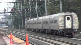 Amtrak AEM-7 #946 Pennsylvanian Train #42 passing through Elizabeth