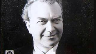 """Gerhard Hüsch """"Danksagung an den Bach""""  Die schöne Müllerin"""
