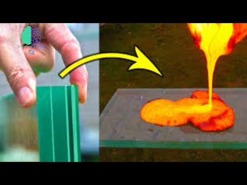 lava vs Bulletproof Glass Experiment 🧪||know with GwS