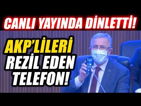 Mansur Yavaş canlı yayında dinletti... AKP'lileri rezil eden telefon!