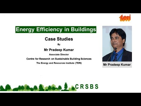 Energy Efficiency in Existing Buildings - Webinar