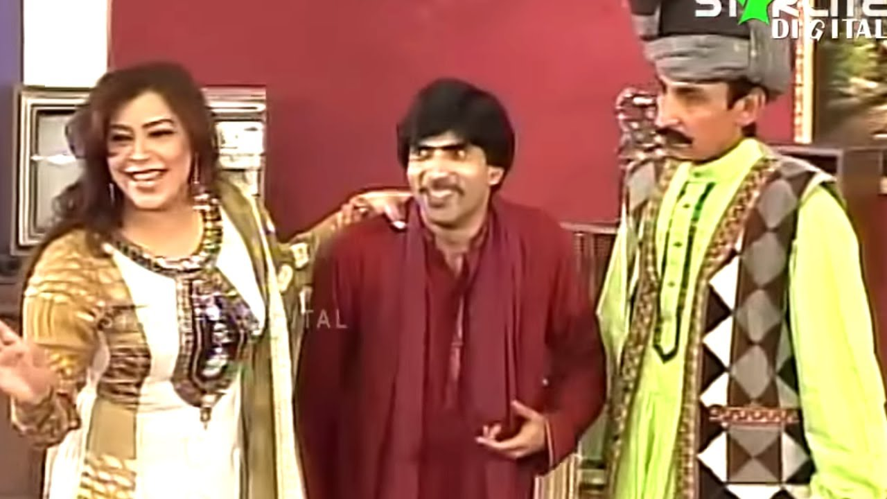 Best Of Iftikhar Thakur and Sajan Abbas New Pakistani Stage Drama Full Comedy Funny Clip | Pk Mast