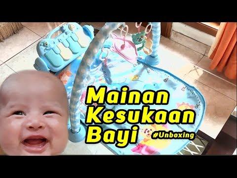 Unboxing Mainan Kesukaan Bayi - Baby Musical Playgym #Part1