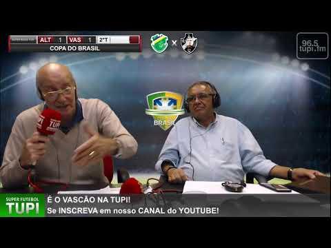 Altos 1 x 1 Vasco - 1ª Fase - Copa do Brasil - 12/02/2020 - AO VIVO