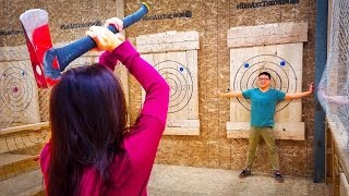 Axe Throwing for Beginners