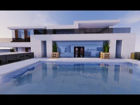 Minecraft Tutorial: Casa Moderna de Montanha {MANYACRAFT}