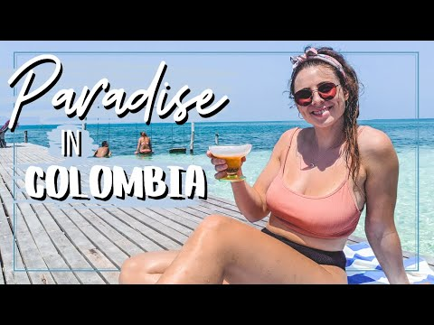 WELCOME TO COLOMBIA'S PARADISE CARIBBEAN ISLANDS 🌴🇨🇴Backpacking Colombia