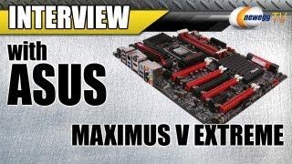newegg TV: ASUS Maximus V EXTREME LGA 1155 Intel Z77 Extended ATX Motherboard Overview w/Interview