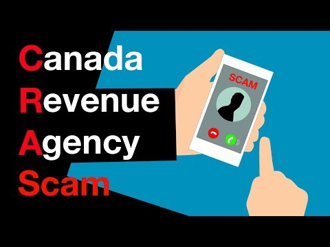 Canada Revenue Agency Scam Phone Message