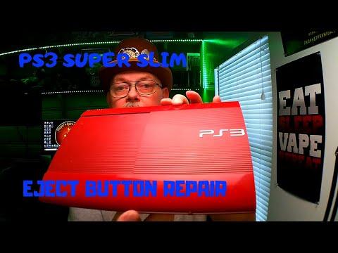 PS3 Eject Button Repair - PS3 Super Slim - Disassemble & Repair