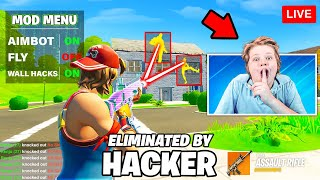 I Caught A Streamer Hacking in Fortnite...