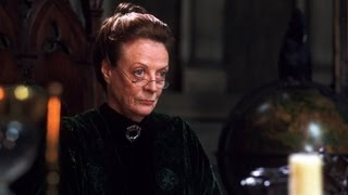 Amazing Maggie Smith as Professor McGonagall in Harry Potter impression!