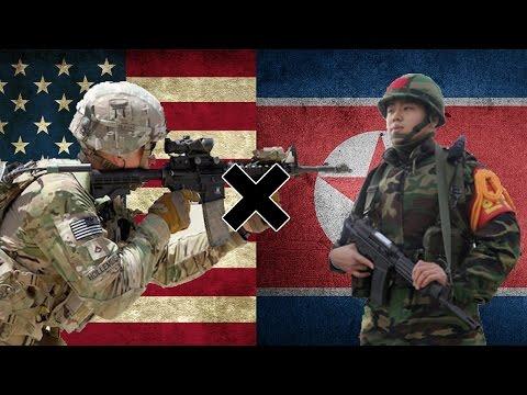 EUA x Coreia do Norte - Comparação Militar