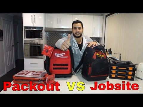 Milwaukee packout backpack vs jobsite – Review and comparison