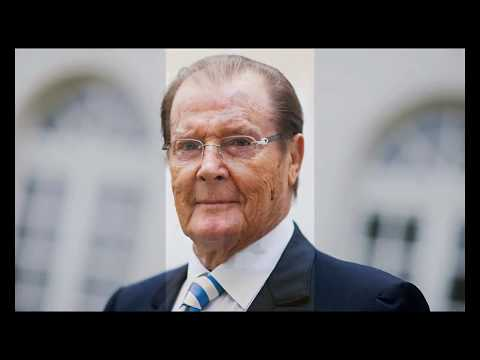 "Sir Roger Moore 1927 ~ 2017 ""Nobody does it better"""