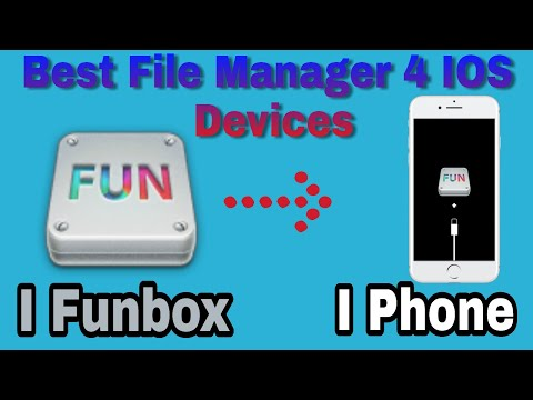 IFunbox Best File Menager For IOS Devics On Windows/Mac