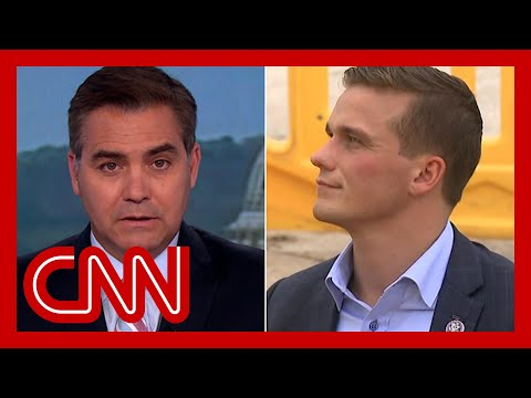 Acosta confronts Republican over support of Trump's election lie