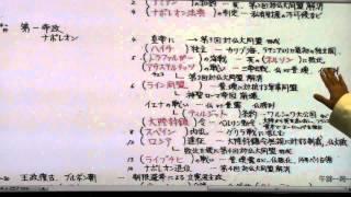 【世界史】フランス史⑪ フランス革命⑥ 皇帝ナポレオン① 青藍義塾|名古...