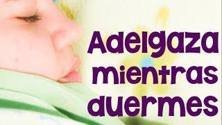 Cómo adelgazar durmiendo | APERDERPESO.COM