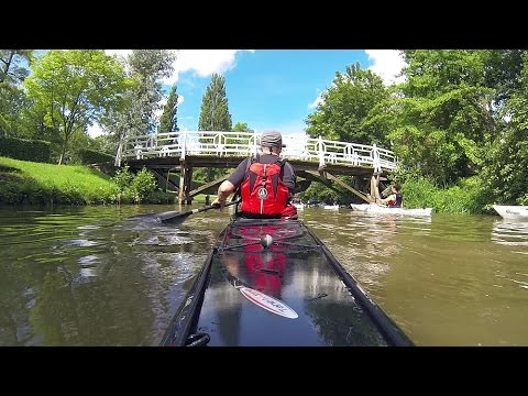 The Oxford Kayak Tour in 2 Minutes - River Thames