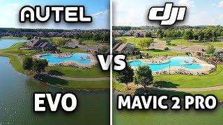 Autel EVO vs DJI Mavic 2 Pro! (4K)