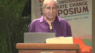 2008 Mother Earth Call To Consciousness On Climate Change 04 - Keynote, Chief Oren Lyons (Onondaga)