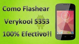 Verykool S353 \ Revivir Cualquier Movill - Avvio, Go Mobile, Lenovo, Lanix, Woo, Bmobile, y Muchos