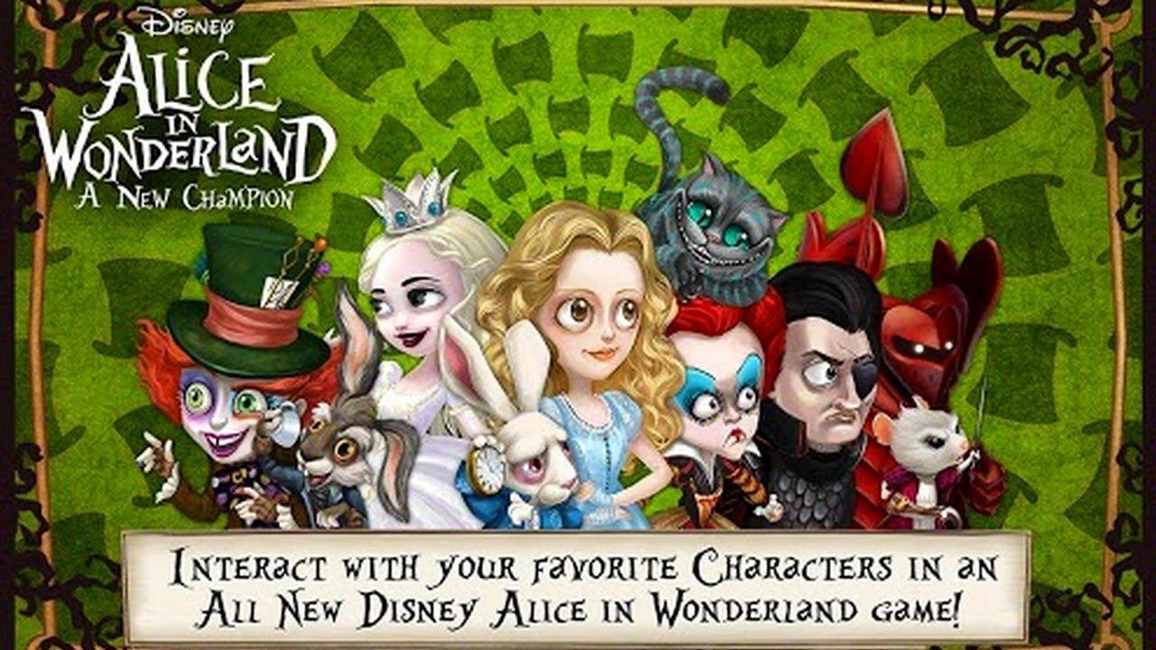 Alice In Wonderland Games