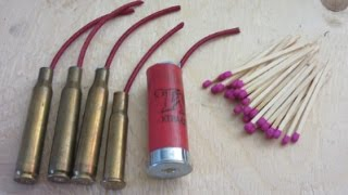 How To Make POWERFUL Match Firecrackers