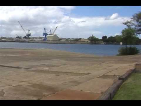 NEH Pearl Harbor - August 5, 2009: Hickam Field Bombing Site