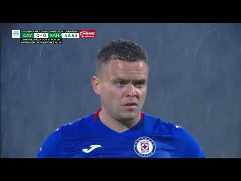 Gol Rodríguez | Cruz Azul 1 - 0 Santos Laguna | Liga MX - Guardianes 2020 - Jornada 1 | LIGA BBVA MX