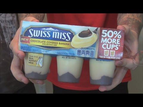 WE Shorts - Swiss Miss Chocolate Covered Banana Pudding