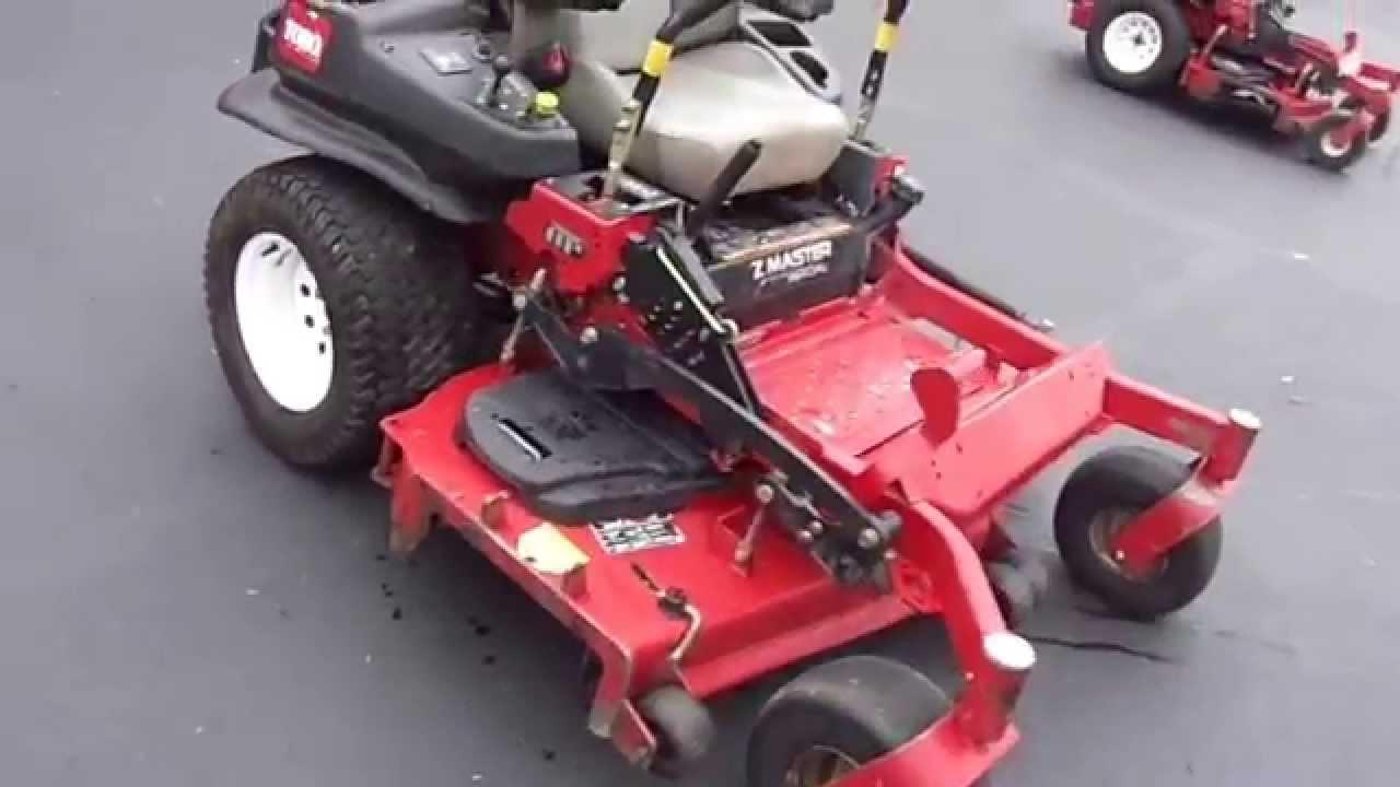 Toro Z Master 60 U0026quot  Lawn Mower With 29 Hp Kawasaki Engine