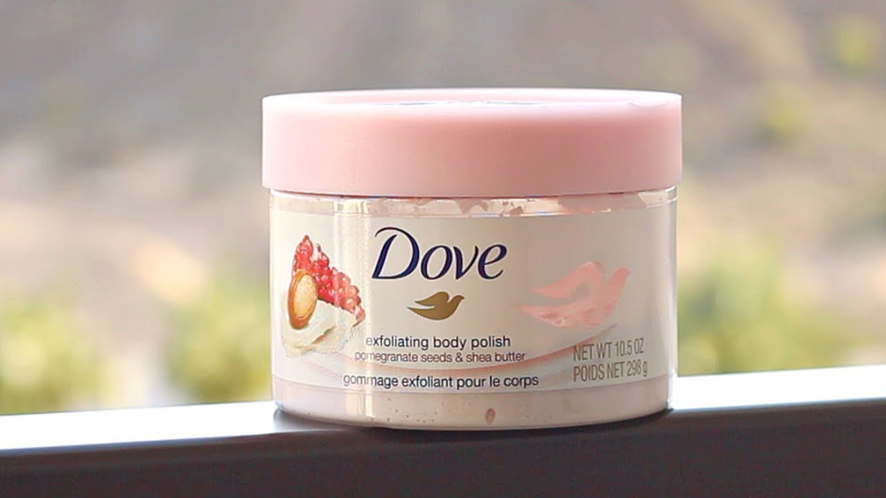 Dove Exfoliating Body Polish Review Youtube