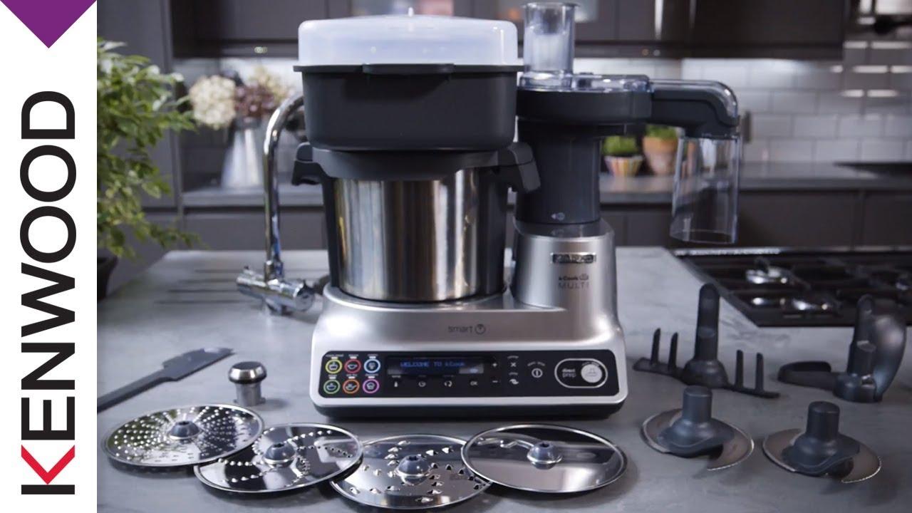 détails pour nouveau authentique personnalisé Kenwood Global / Robot cuiseur kCook Multi Smart de Kenwood ...