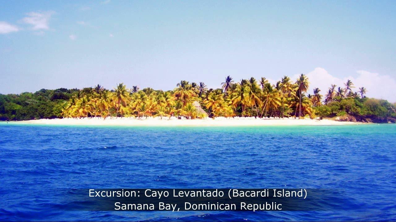 Cayo Levantado Bacardi Island  Samana Bay Dominican Republic