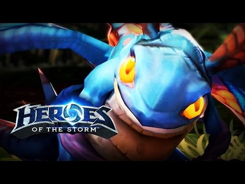 ♥ Heroes of the Storm (Gameplay) - Brightwing, Be Kind Rewind