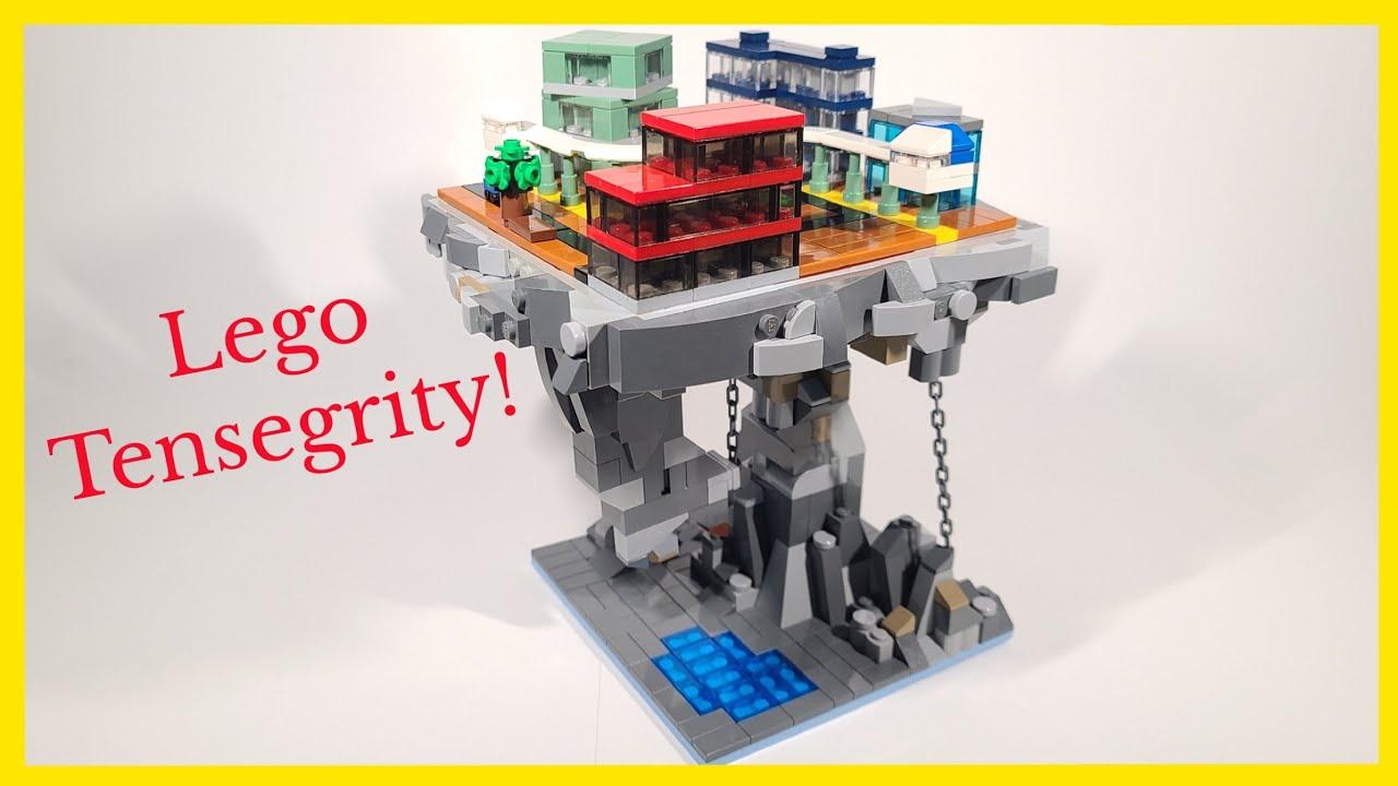 "Lego ""Floating City"" Tensegrity Moc - YouTube"