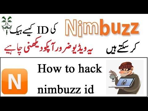 how to hack nimbuzz id [Password cracking in Urdu]