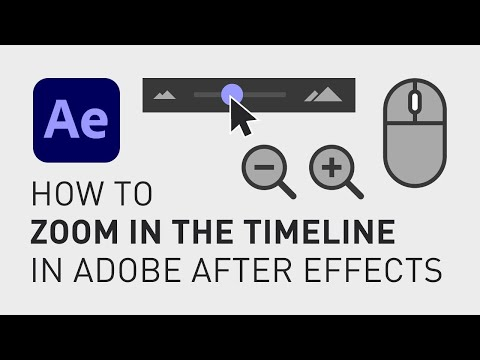How to zoom in the timeline