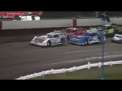 Tri Track 2nd IMCA Late Model feature Farley Speedway 7/14/17