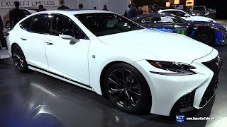 2018 Lexus LS 500 F Sport - Exterior and Interior Walkaround - 2018 Detroit Auto Show