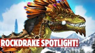 connectYoutube - 📌EXCLUSIVE! ABERRATION ROCKDRAKE DINO SPOTLIGHT! Ark: Survival Evolved Aberration