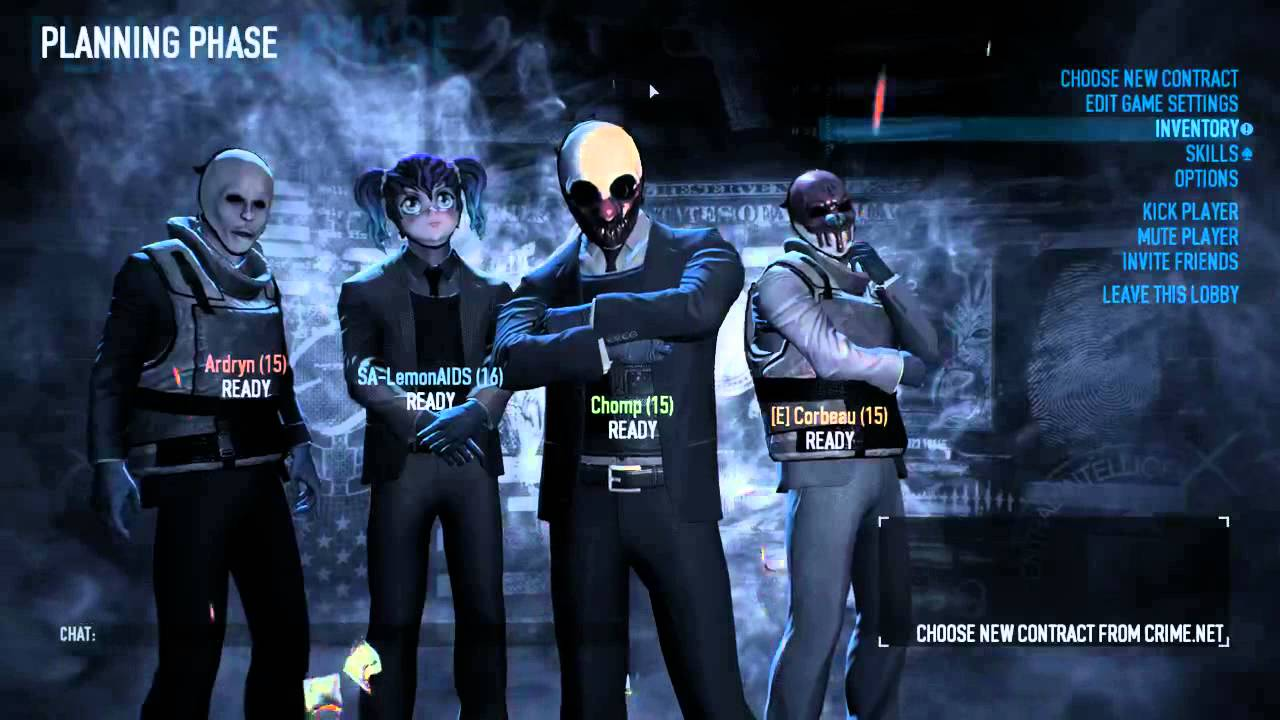 Borderlands 2 Wallpaper Hd Payday 2 Anime Mask Surprise Youtube