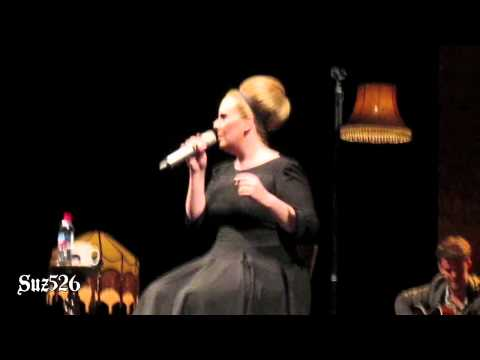 "Adele ""If It Hadn't Been For Love"" San Diego 8/18/11.mov"