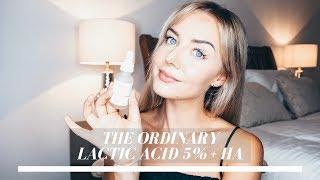 The Ordinary Lactic Acid 5% + HA Review
