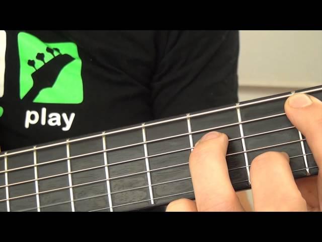 Mr Probz - Waves - gitaaruitleg - gitaarles